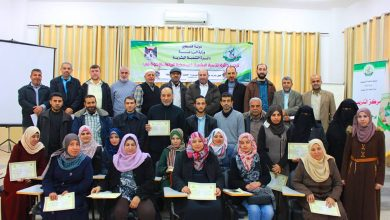 Photo of دائرة التنمية البشرية بالزراعة تحتفل بتخريج دورات صناعة المنظفات