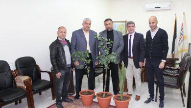 Photo of وفد من وزارة الزراعة يزور المكتب الإعلامي الحكومي بغزة