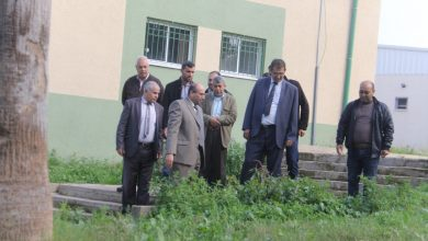 Photo of وفد من الزراعة يتفقد المدرسة الزراعية شمال القطاع