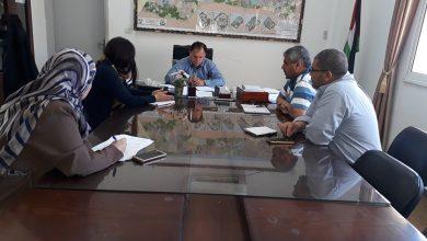 """Photo of الزراعة تناقش مع """"الصليب"""" الأحمر دعم مشاريع إبداعية لمواجهة التحديات الزراعية"""