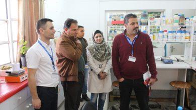 """Photo of وفد من منظمة """"الفاو"""" يتفقد مختبرات وزارة الزراعة بغزة"""