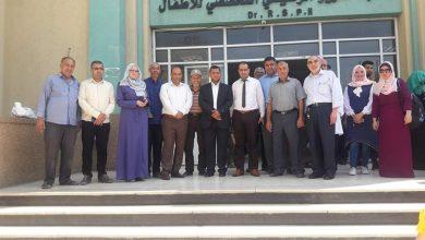 "Photo of بافتتاح حديقة مستشفى الرنتيسى ""الزراعة"" تختتم انشطة مبادرة زرع ""ابتسامة"""