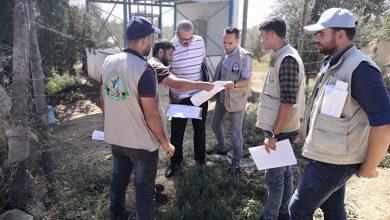 """Photo of وفد من اللجنة القطرية يتفقد مشروع """"الأطلس الزراعي"""""""