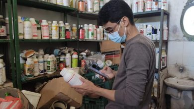 Photo of الزراعة : زيارات ميدانية لمتابعة عمل المشاتل ومحلات بيع المبيدات