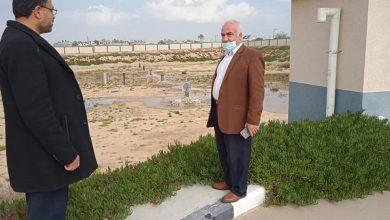 Photo of زراعة خانيونس تتفقد محطة ترشيح المياه بعد المعالجة في منطقة الفخاري