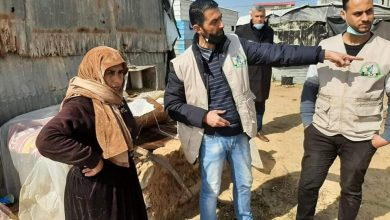 Photo of زراعة غزة تنفذ جولة ارشادية لصغار مربي أبقار الحليب