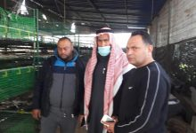 Photo of زراعة رفح تتفقد مزرعة الدواجن النموذجية التي التهمتها النيران
