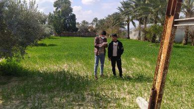 Photo of زراعة الوسطى تنفذ جولات ميدانية على المزارعين المسجلين بمشروع تخضير فلسطين