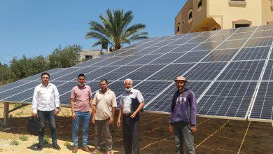"Photo of الزراعة تشرف على تسليم  مشروع تشغيل آبار زراعية  بنظام ""الطاقة الشمسية"""