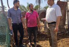 Photo of زراعة خانيونس تتفقد مزارعي  منطقة خزاعة