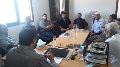Photo of زراعة خانيونس تبحث مع جمعية النخيل الفلسطينية تتفيذ مشاريع زراعية