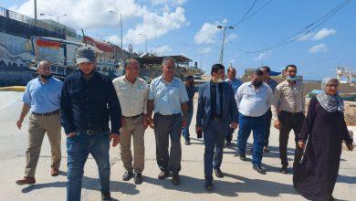 Photo of وكيل الزراعة يتفقد الإدارة العامة للثروة السمكية